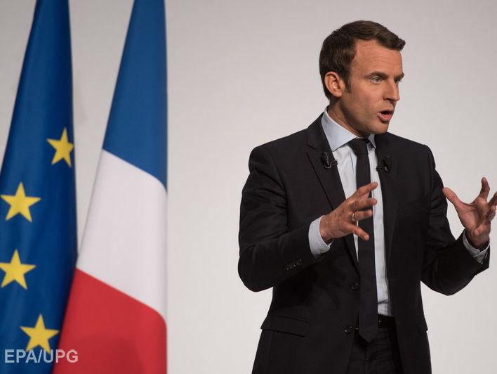 Президент Франції Еммануель Макрон // Фото: EPA/UPG