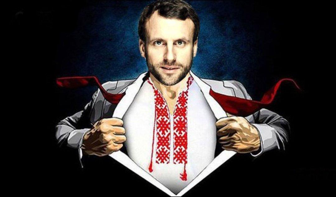 Президент Франції Еманнуель Макрон // Фото з соцмереж