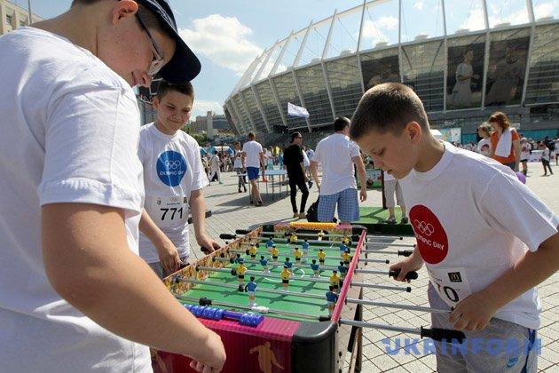 Олімпійський день Київ проведе у першу суботу літа