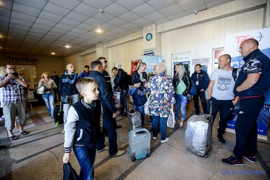 Із запорізького аеропорту запустили новий рейс в Анталію