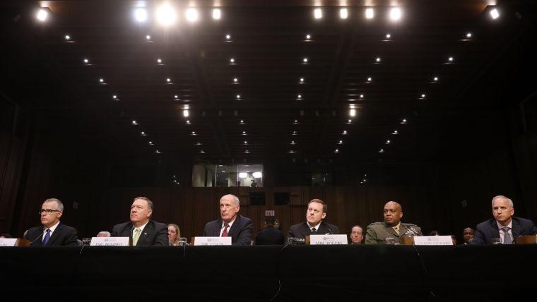 Слухання сенату стосовно втручання Росії у вибори США