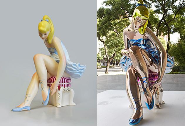 Американського скульптора спіймали на плагіаті української майстрині