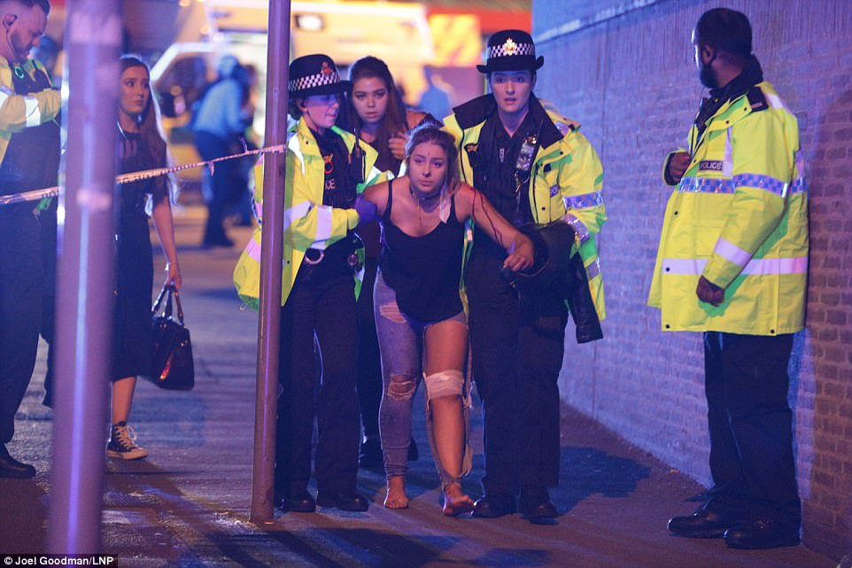 Манчестер, теракт