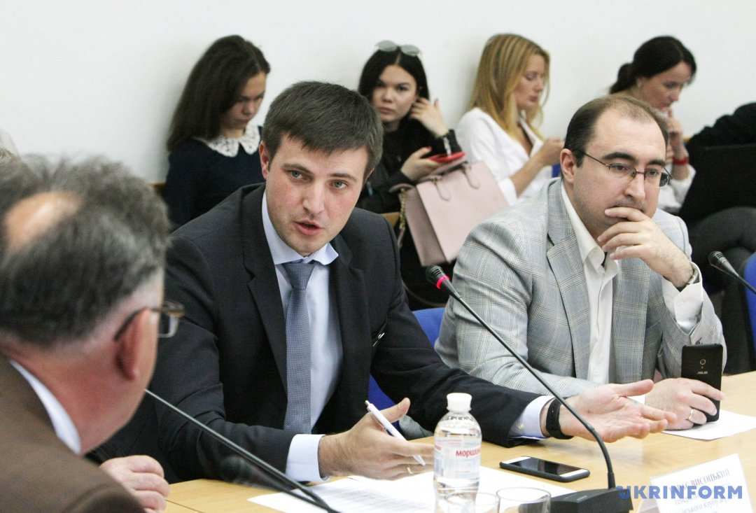 Тарас Висоцький (ліворуч). Фото: Юлія Овсяннікова