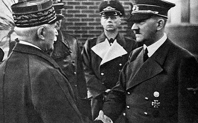 Петэн, Гитлер