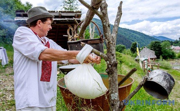 Виготовлення овечого сиру