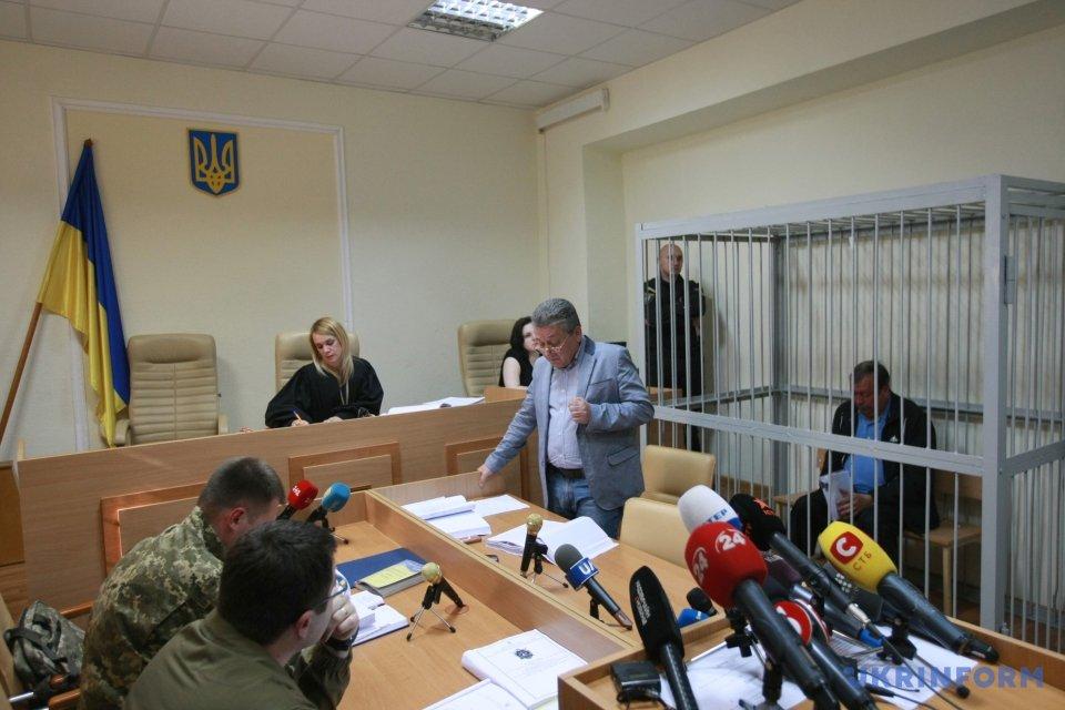 Судове засідання над колишнім керівником Луганської ОДА Олександром Антиповим