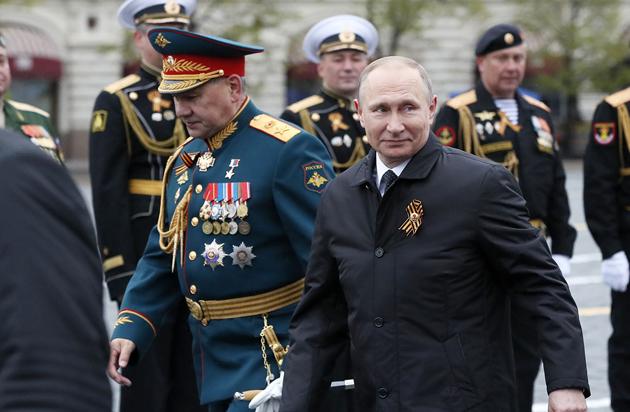 Сергей Шойгу, Владимир Путин