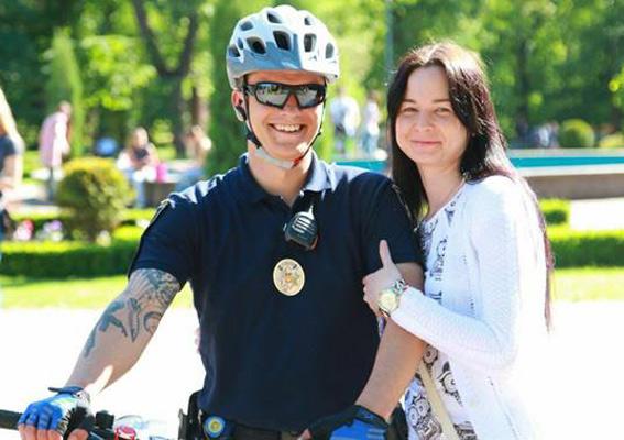 ВКривом Роге появился полицейский велопатруль