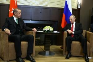 Кремль: Зустріч Путіна з Ердоганом може відбутися наступного тижня в Москві