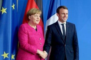 Меркель обговорить із Макроном глобальні та європейські справи