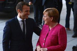Макрон і Меркель обговорять Brexit із британським прем'єром