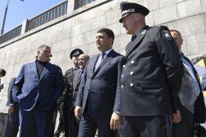 Гройсман подякував поліції за охорону Євробачення
