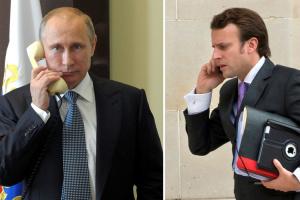 """Макрон обговорив з Путіним перспективи """"нормандського"""" саміту"""