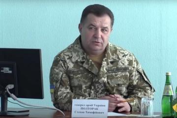 Poltorak: Rebellen bereiten sich zunächst auf Offensive nicht vor