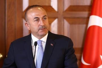 Außenminister der Türkei besucht die Ukraine