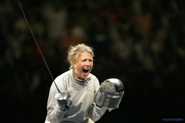Olha Kharlan becomes world champion in saber fencing