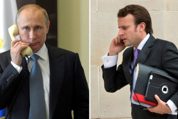Macron, Putin discuss Normandy Four meeting