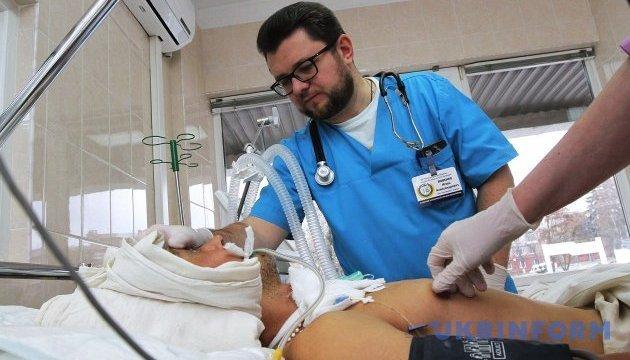 L'hôpital de Dnipro a acueilli 6 militaires grièvement blessés