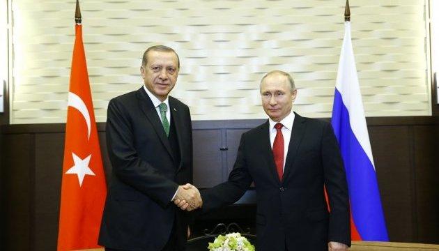 Сочинська зустріч: Путін привітав Ердогана з розширенням повноважень