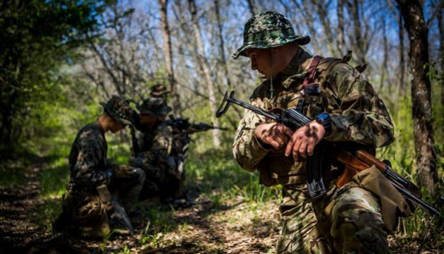 Four Ukrainian soldiers wounded in ATO over past 24 hours