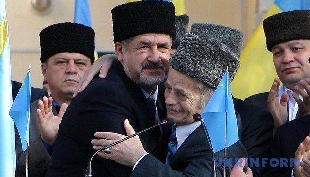 Джемилев и Чубаров выступили с новогодними обращениями