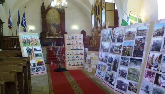 "Ukraine's photo exhibition ""War continues"" opens in Estonia"