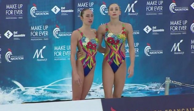 Українки беруть ще одне «золото» на етапі Світової серії з синхронного плавання