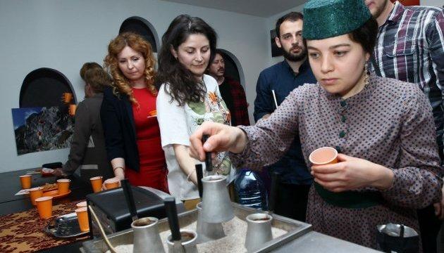 Гостей Евровидения знакомили с Крымом во время кофейной церемонии