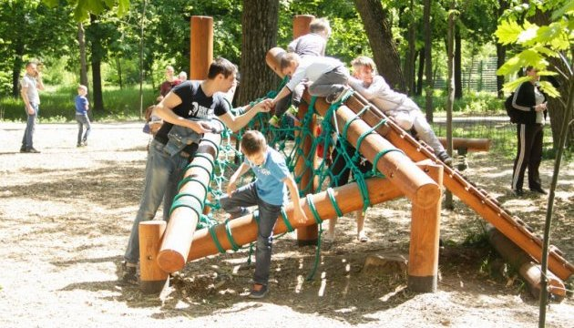 На Сырце открыли первый в Киеве бесплатный motoric-park