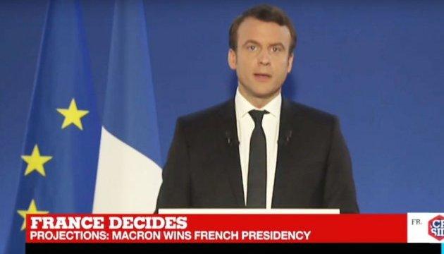 Макрон: Я буду защищать Европу, нашу цивилизацию и свободную жизнь