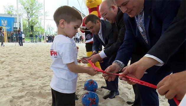 Андрей Павелко открыл современный спортивный комплекс в Ивано-Франковске