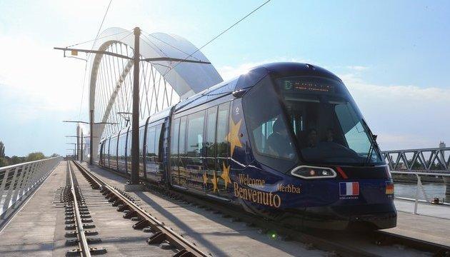Мандрувати з Франції до Німеччини можна на трамваї