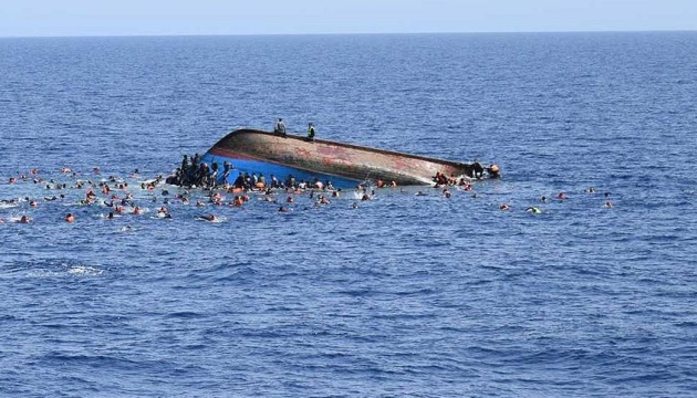 У Середземному морі перекинулося судно з мігрантами: близько 80 загиблих