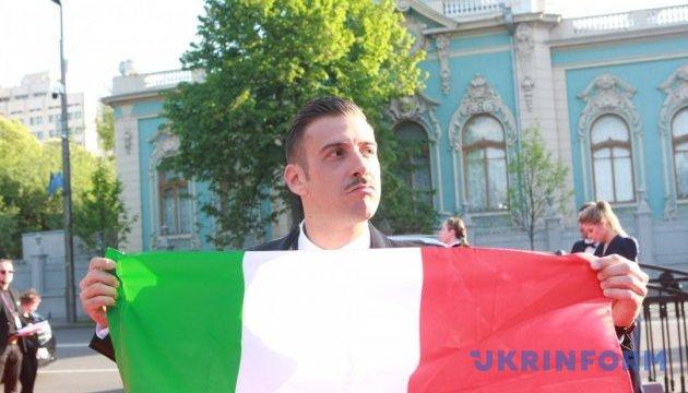 Итальянец Габбани поражен украинским Евровидением