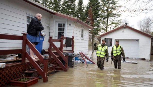 До боротьби із паводками у Канаді залучили армію