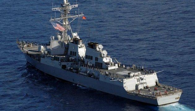 Ракетний есмінець США зайшов у Чорне море