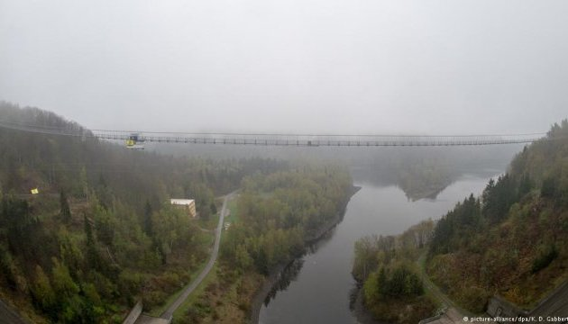Пройтися півкілометровим пішохідним мостом відтепер можна в Німеччині