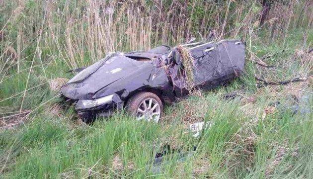 Під Києвом Honda з'їхала у кювет, троє загиблих
