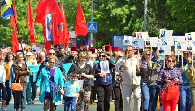 Главу поліції Мелітополя відсторонили через події 9 травня