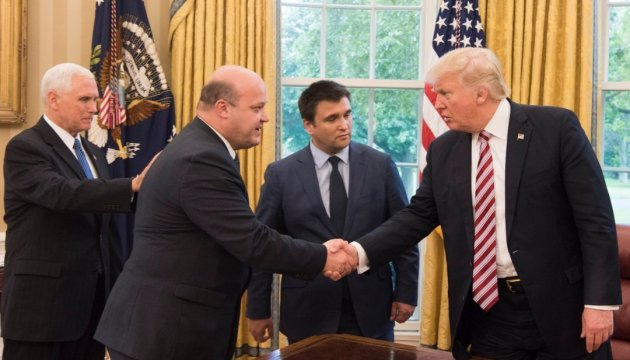#LetsMakePeace: Trump ruft nach Treffen mit Klimkin und Lawrow zum Frieden auf