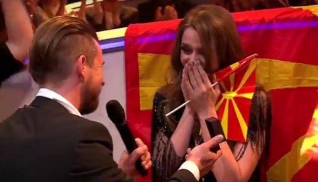 Une candidate de l'Eurovision a reçu une demande de mariage en direct