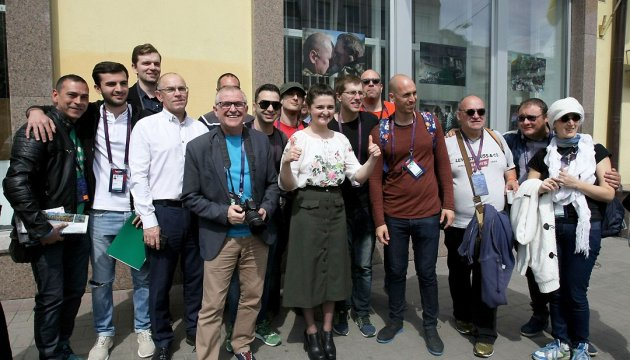 Ukraine and Eurovision through journalists' eyes