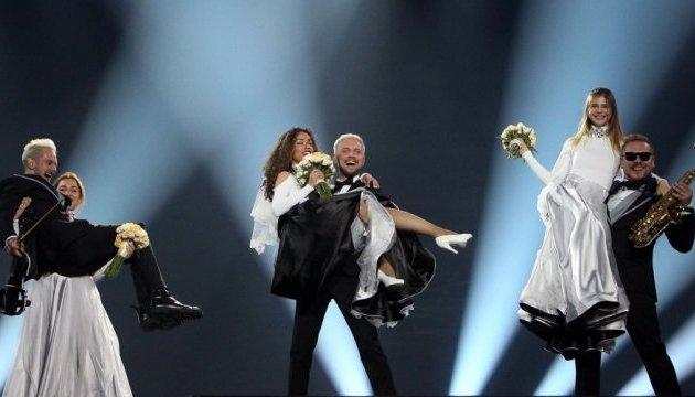 Додон пообещал наградить SunStroke Projec за Евровидение