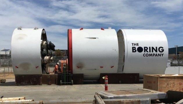 Ілон Маск показав перші випробування тунелю Hyperloop