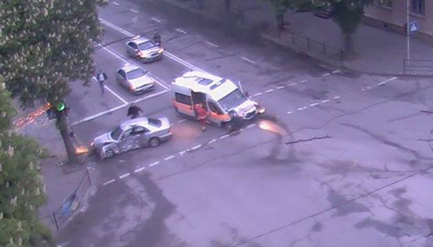 У мережі з'явилося відео резонансної аварії за участі