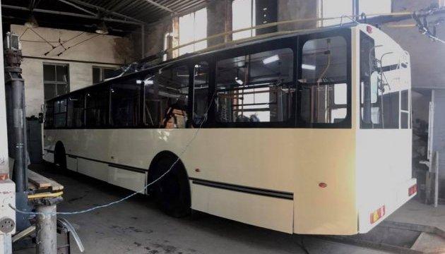 У Житомирі випробують тролейбус власного виробництва