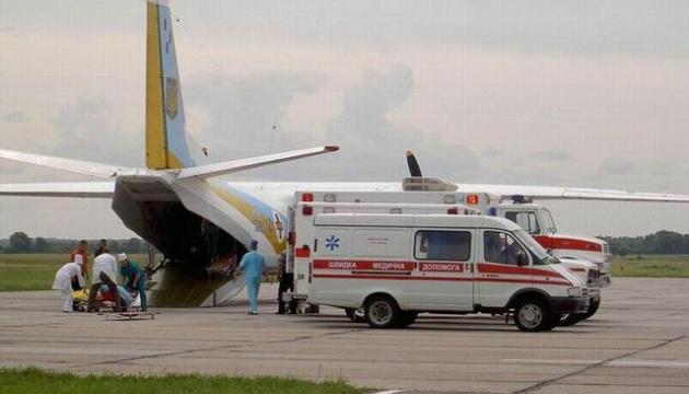 Літак із 11 пораненими бійцями АТО прибув до Львова із Дніпра