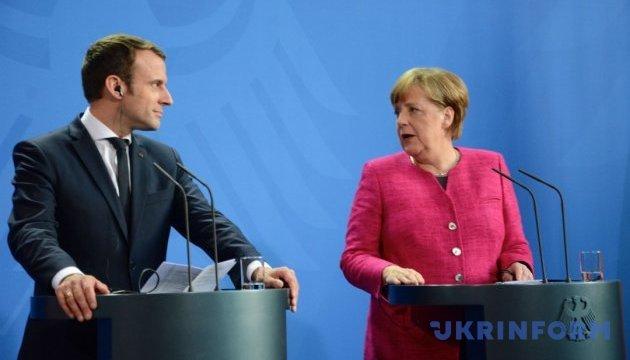 Меркель и Макрон подчеркнули, что заявления о