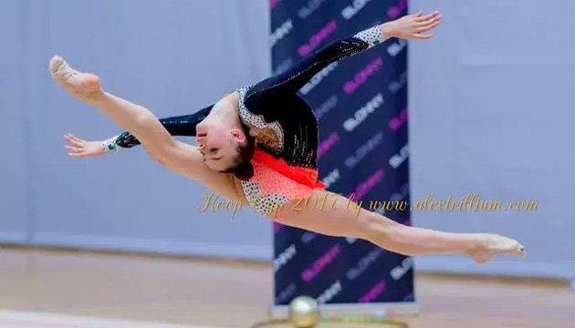 Гімнастка-юніорка Яремчук зайняла перше місце на міжнародному турнірі